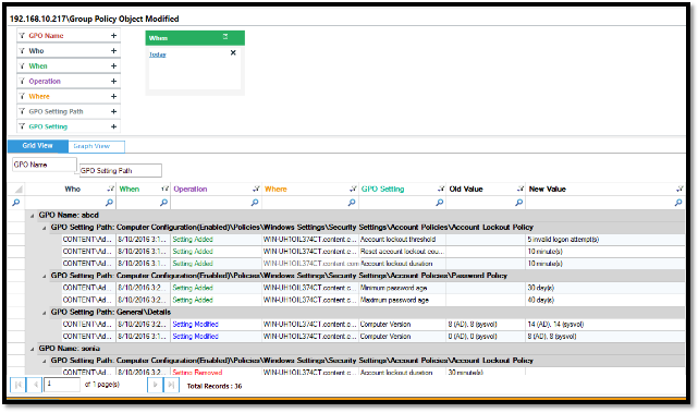 Top 10 Group Policy Audit Reports with LepideAuditor Suite