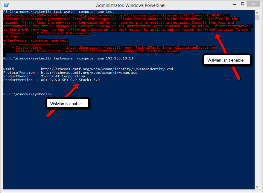 How to Manage PC or Servers Remotely with Powershell