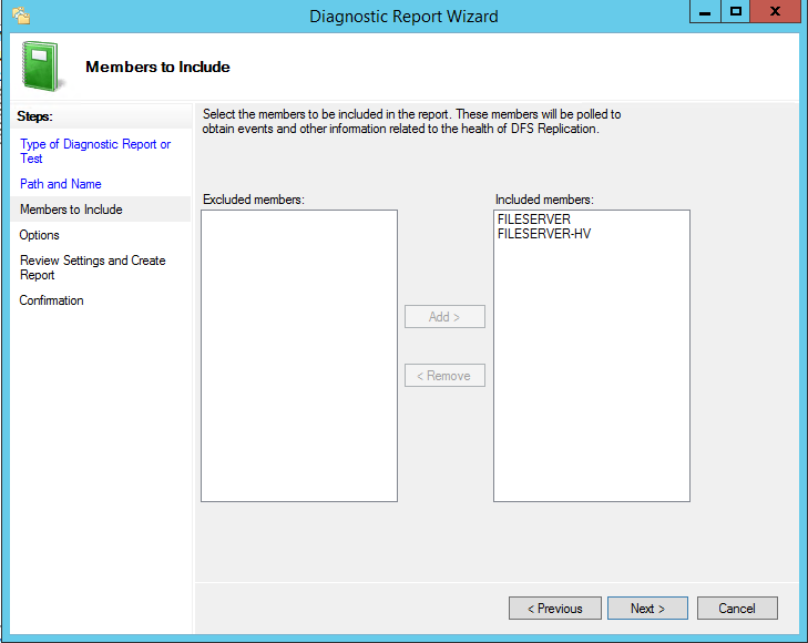 How can monitoring DFS Replication in Windows Server 2012