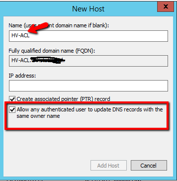 Event id 1196 with Windows 2012 HYPER-V Failover Cluster