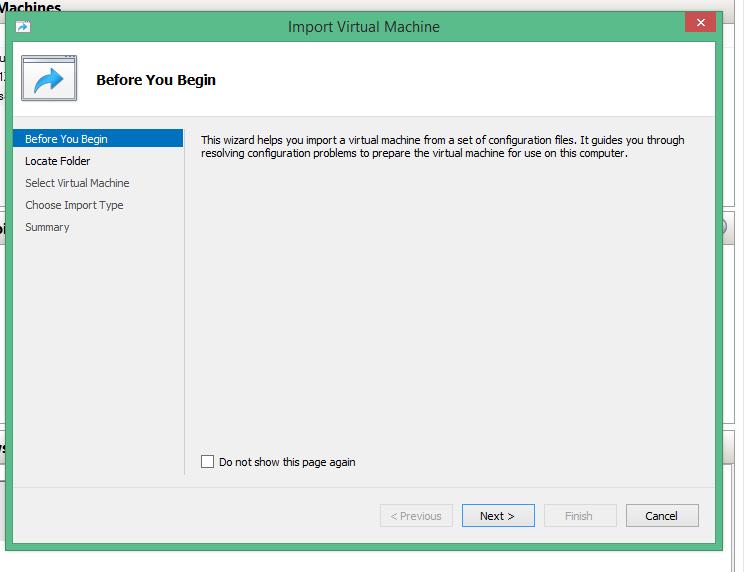 Export & Import Virtual Machine in HYPER-V   Askme4Tech