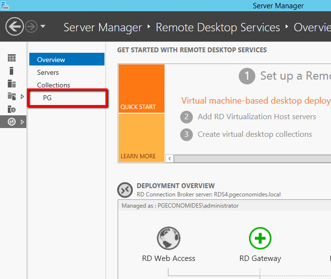 How to use Session Shadow in Windows Server 2012 R2 RDS