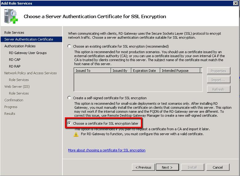 Install and Configure Remote Desktop Gateway Server   Askme4Tech