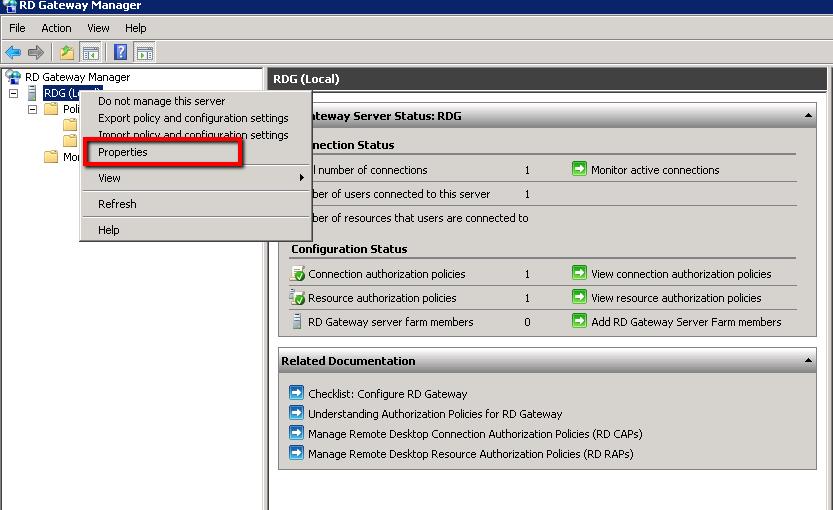 Install And Configure Remote Desktop Gateway Server