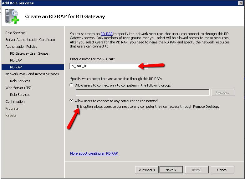 Install and Configure Remote Desktop Gateway Server | Askme4Tech