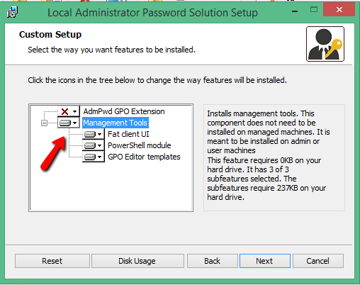 change local administrator password on all workstations