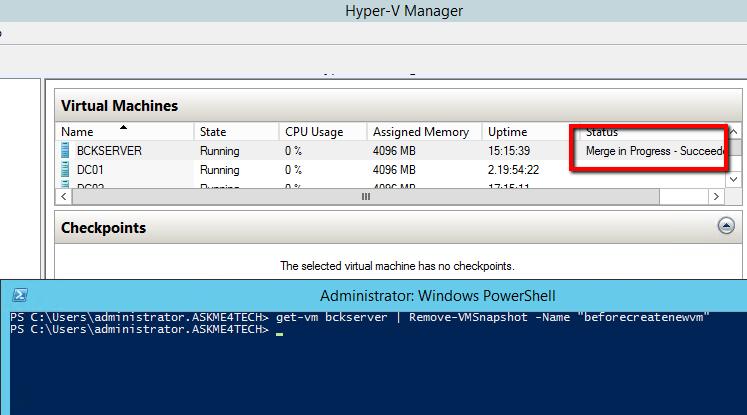 enable hyper-v manager powershell