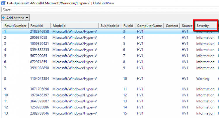 How to use HYPER-V Best Practices Analyzer in Windows Server