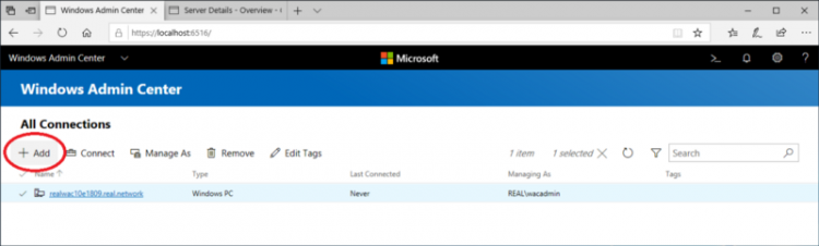 Windows Admin Center - Monitoring and Managing Remote