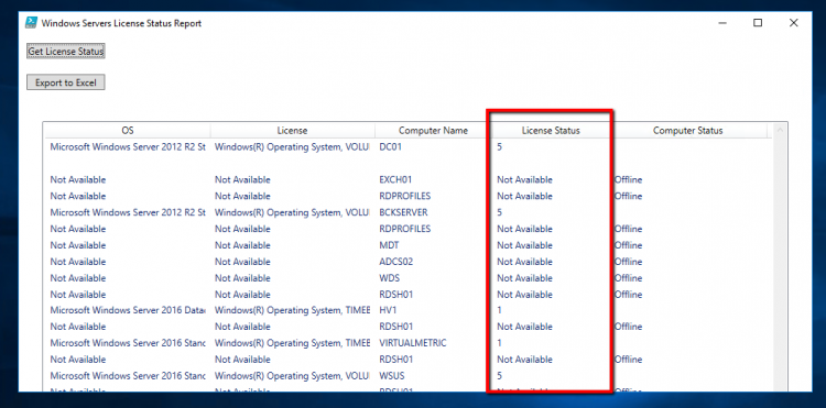 How to find License Status of Windows Servers with Powershell - Part
