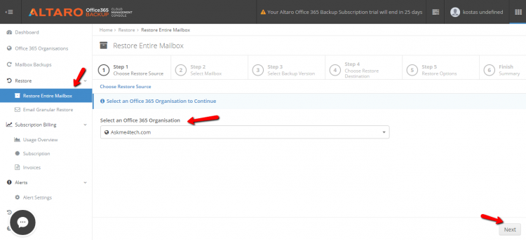How can backup Office365 mailboxes with Altaro | Askme4Tech