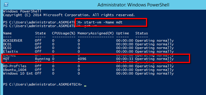 How Start or Shutdown multiple VM's with Powershell in