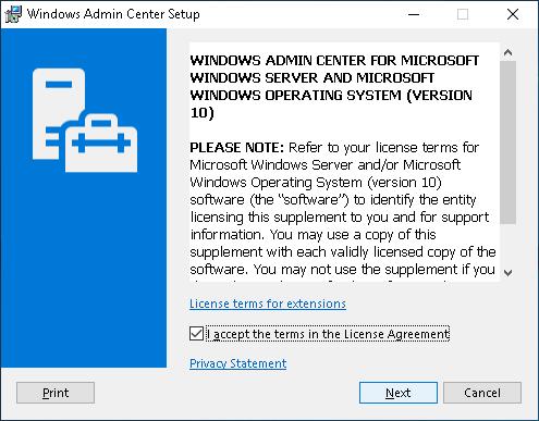 Windows Admin Center (Project Honolulu) — Setup Guide