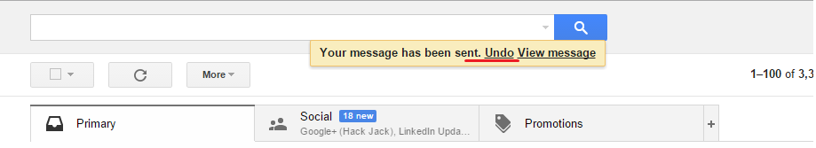 how to delete an already sent email in gmail