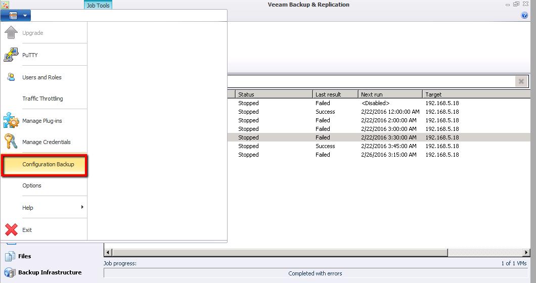 Migrate Veeam Backup Server to new Server   Askme4Tech