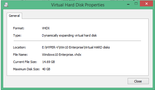 HYPER-V - How to Access Virtual Disk Properties | Askme4Tech