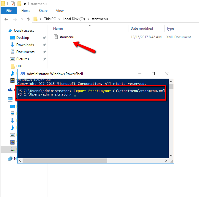 How can deploy Windows 10 Customized Start Menu with MDT